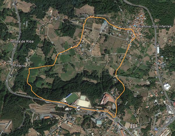 Circuito 3.3 Km.