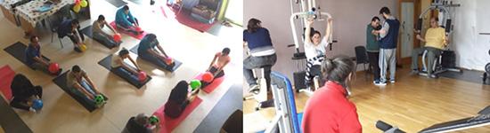 Taller de gimnasia y pilates