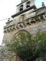 Frontal da Igrexa de San Martiño en Loiro