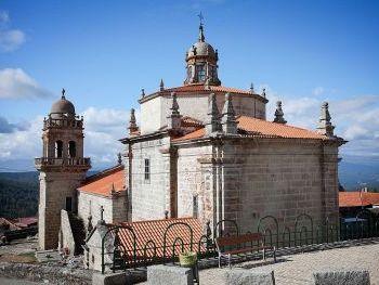 Iglesia de San Pedro de Leirado en Quintela de Leirado