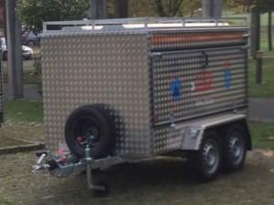 Nuevo remolque equipado para emergencias